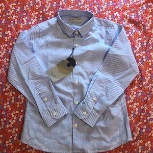 Zara kid slim fit shirt